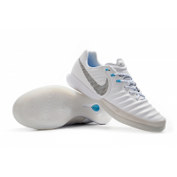 NK TimpoX Finale IC Soccer Cleats-White&Gray