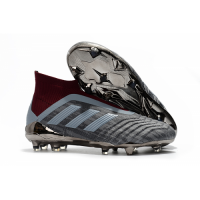AD Paul Pogba Predator 18+ Without Latchet FG-Gray&Red