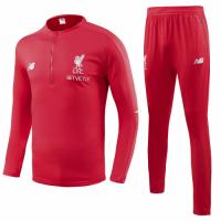 18-19 Liverpool Red Training Kit( Zipper Sweat Top Shirt+Trouser)