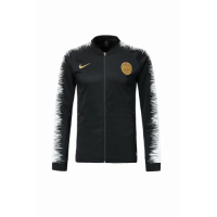 18-19 PSG Black&White V-Neck Track Jacket