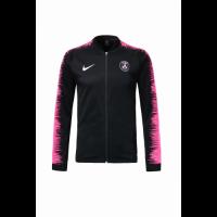 18-19 PSG Black&Pink V-Neck Track Jacket