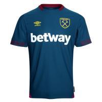 18-19 West Ham United Away Blue Soccer Jersey Shirt