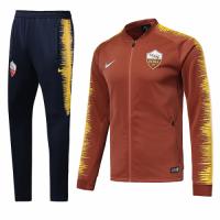 18-19 Roma Orange&Navy V-Neck Training Kit(Jacket+Trousers)