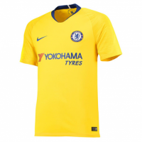 18-19 Chelsea Away Yellow Soccer Jersey Shirt