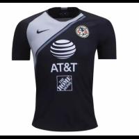 18-19 Club America Goalkeeper Black&White Soccer Jersey Shirt