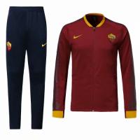 18-19 Roma Red&Navy V-Neck Training Kit(Jacket+Trousers)