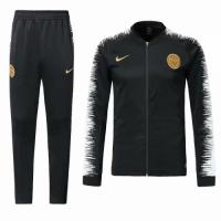 18-19 PSG Black&White V-Neck Training Kit(Jacket+Trousers)