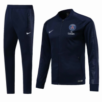 18-19 PSG Navy V-Neck  Training Kit(Jacket+Trousers)