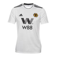 18-19 Wolverhampton Wanderers Away White Soccer Jersey Shirt