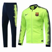 18-19 Barcelona Green&Navy V-Neck Training Kit(Jacket+Trouser)