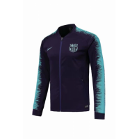 18-19 Barcelona Purple&Blue V-Neck Training Jacket