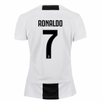 18-19 Juventus Home RONALDO #7 Women's Jersey Shirt