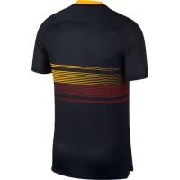 18-19 Roma Black Pre-Match Training Shirt