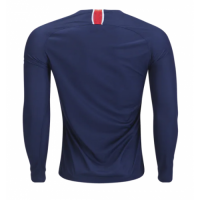18-19 PSG Home Long Sleeve Soccer Jersey Shirt