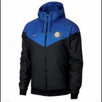 18-19 Inter Milan Blue&Black Hoody Jacket