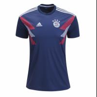 18-19 Bayren Munich Blue Pattern Training Shirt