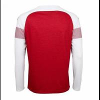 18-19 Arsenal Home Long Sleeve Soccer Jersey Shirt