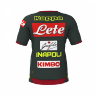 18-19 Napoli Black Training Jersey Shirt