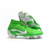 NK Mercurial Superfly VI 360 Elite Neymar FG Soccer Cleats-Green