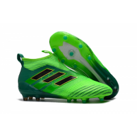 AD ACE 17+ PureControl FG Soccer Cleats-Green