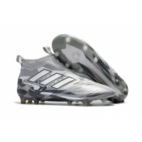 AD ACE 17+ PureControl FG Soccer Cleats-Grey