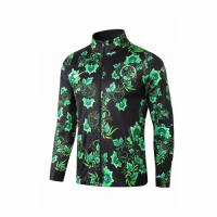 2018 World Cup Nigeria Black&Green Tranining Jacket