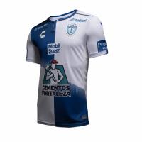 18-19 CF Pachuca Home White&Blue Jersey Shirt