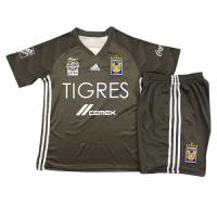 18-19 Tigres UANL Third Away Gray Children's Jersey Kit(Shirt+Short)
