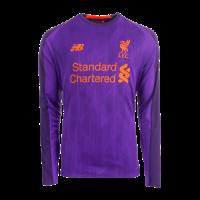 18-19 Liverpool Away Purple Long Sleeve Jersey Shirt