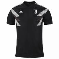 18-19 Juventus Black Training Jersey Shirt