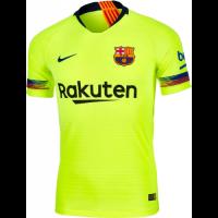 18-19 Barcelona Away Green Soccer Jersey Shirt(Player Version)