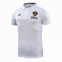 18-19 La Galaxy Core Polo Shirt-White