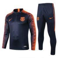 18-19 Barcelona Navy&Orange Training Kit(Jacket+Trouser)