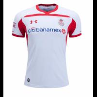 18-19 Deportivo Toluca Away White Jersey Shirt