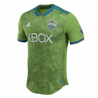50a64080251 2018 Seattle Sounders Home Green Soccer Jersey Shirt(Player Version)