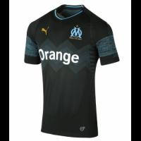 18-19 Marseille Away Black Jersey Shirt