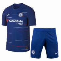 18-19 Chelsea Home Player Version Soccer Jersey Kit(Shirt+Short)