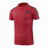18-19 Bayern Munich Core Polo Shirt-Red