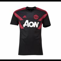 18-19 Mancehster United Red&Black Training Shirt