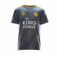 18-19 Leicester City Away Gray Soccer Jersey Shirt