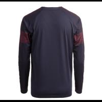 18-19 Arsenal Away Long Sleeve Navy Soccer Jersey Shirt