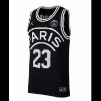 PSG×JORDAN Jordan #23 Black Basketball Jersey Shirt
