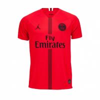18-19 PSG JORDAN 3rd Away Red Soccer Jersey Shirt