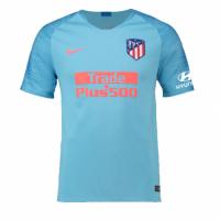 18-19 Atletico Madrid Away Blue Soccer Jersey Shirt