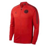 18-19 PSG JORDAN 3rd Away Red Soccer Tranining Jacket