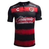 18-19 Club Tijuana Home Red&Black Soccer Jersey Shirt