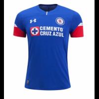 18-19 CDSC Cruz Azul Home Blue Soccer Jersey Shirt