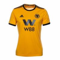 18-19 Wolverhampton Wanderers Home Soccer Jersey Shirt