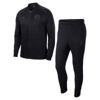 18-19 PSG JORDAN 3rd Away Black Training Kit(Jacket+Trousers)