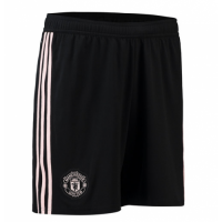 18-19 Manchester United Away Black Jersey Short